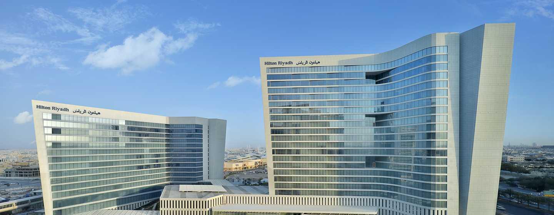 Hilton Riyadh Hotel & Residences– Außenbereich des Hotels
