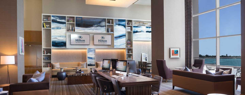 Hilton San Diego Bayfront, Kalifornien, USA– Speisen und Lounge