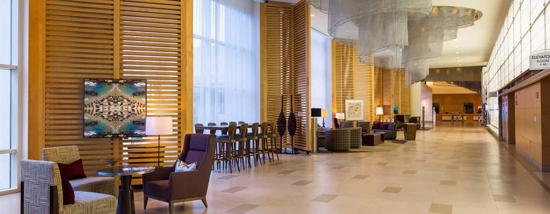Hilton San Diego Bayfront, Kalifornien, USA– Hotel-Lobby
