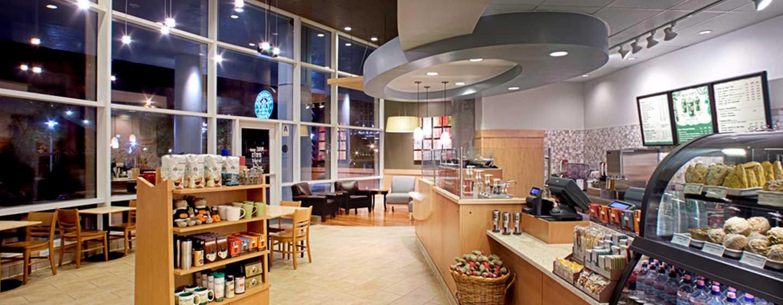Hilton San Diego Bayfront, Kalifornien, USA– Starbucks auf dem Hotelgelände