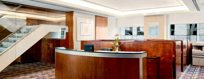 Hilton Sao Paulo Morumbi Hotel, Brasilien – Business Center