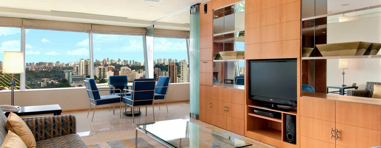 Hilton Sao Paulo Morumbi Hotel, Brasilien – Wohnbereich der Residential Suite