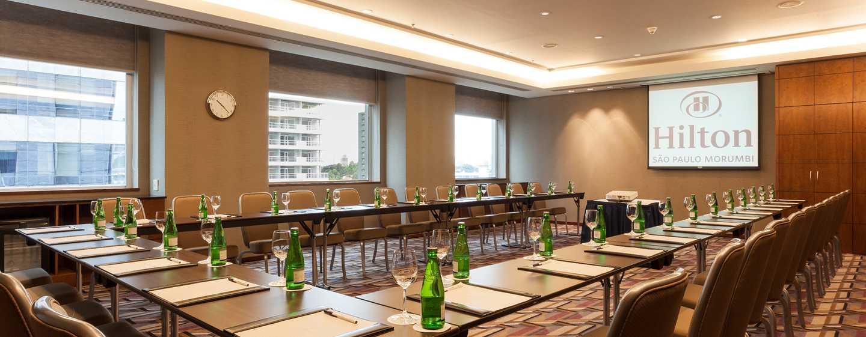 "Hilton Sao Paulo Morumbi Hotel, Brasilien – Tagungsraum nach ""Hilton Meetings""-Standard"
