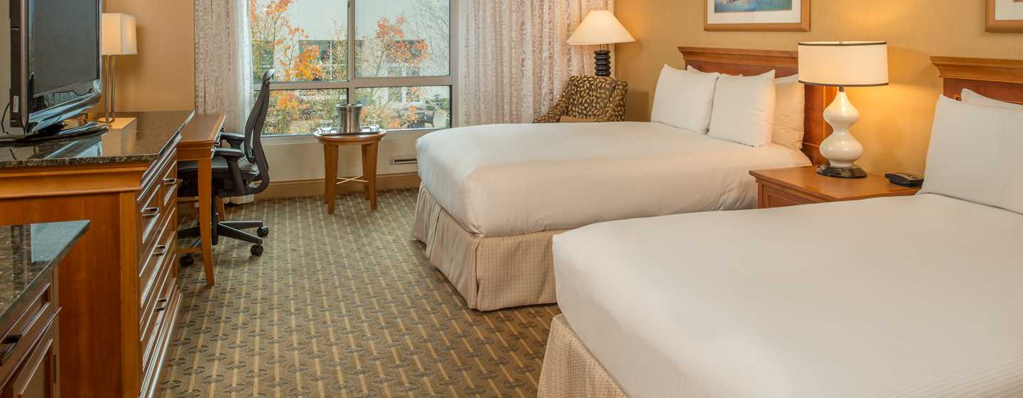 Hilton Seattle Airport Hotel & Conference Center, USA – Zimmer mit Doppelbett