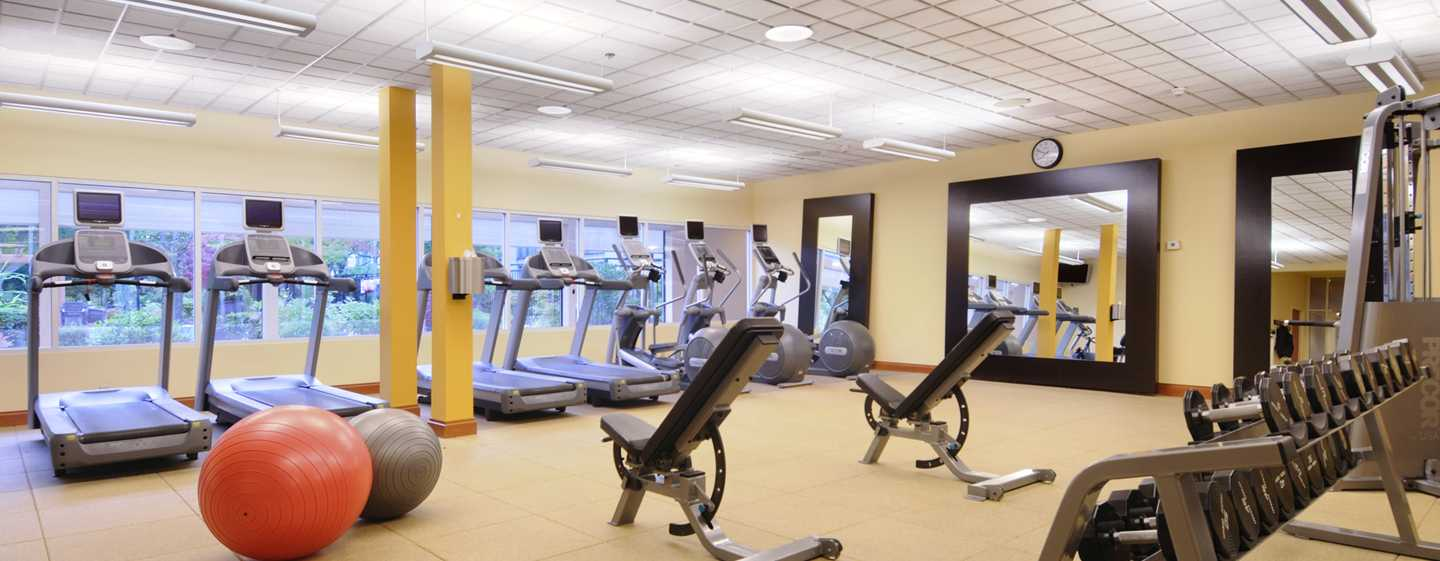 Hilton Seattle Airport Hotel & Conference Center, USA – Fitness Center