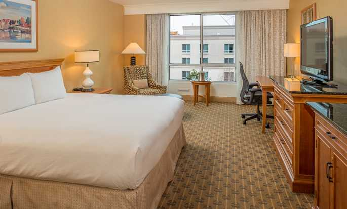 Hilton Seattle Airport Hotel & Conference Center, USA – King-Size-Bett
