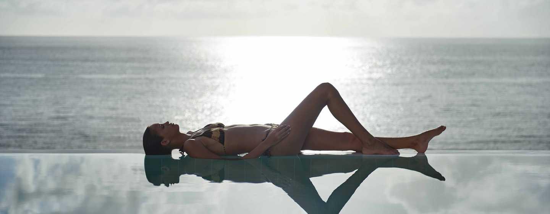 Hilton Seychelles Northolme Resortand Spa– Swimmingpool der Präsidenten Villa