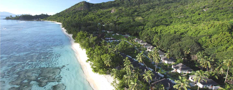 Hilton Seychelles Labriz Resort Spa Hotel, Seychellen – Außenansicht