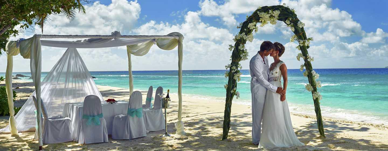 Hochzeit hilton mauritius