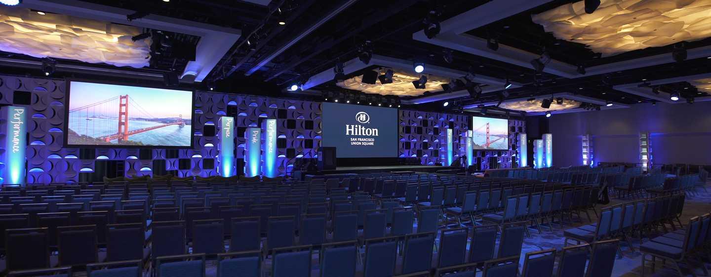 Hilton San Francisco Union Square Hotel, Kalifornien, USA– Eventfläche