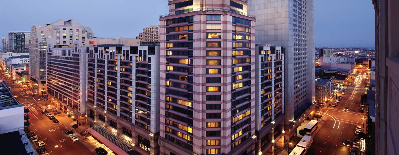 Hilton San Francisco Union Square Hotel, Kalifornien, USA– Lage am Union Square