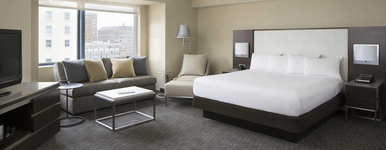 Hilton San Francisco Union Square Hotel, Kalifornien, USA– Junior Suite