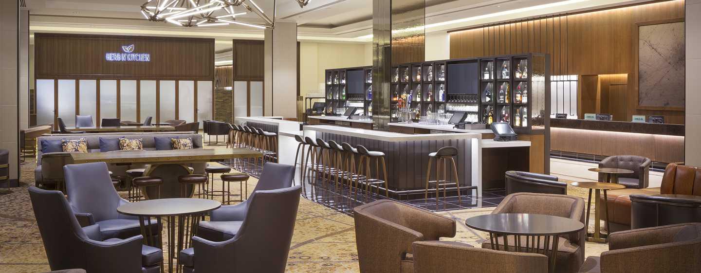 Hilton San Francisco Union Square Hotel, Kalifornien, USA– Lobby Bar