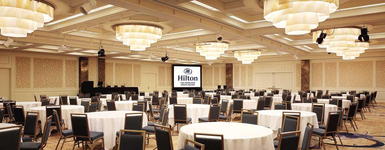 "Hilton San Francisco Union Square Hotel, Kalifornien, USA– Ballsaal ""Imperial"""