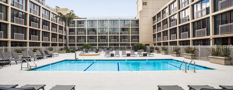 Hilton San Francisco Union Square Hotel, Kalifornien, USA– Außenpool