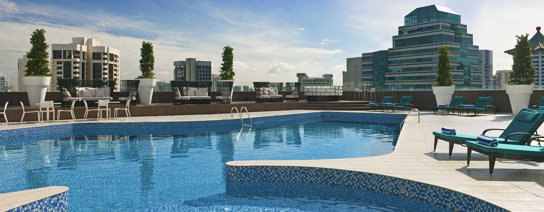 Hilton Singapore Hotel, Singapur – Dachswimmingpool