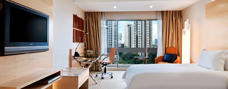 Hilton Singapore Hotel, Singapur – Deluxe Plus Zweibettzimmer
