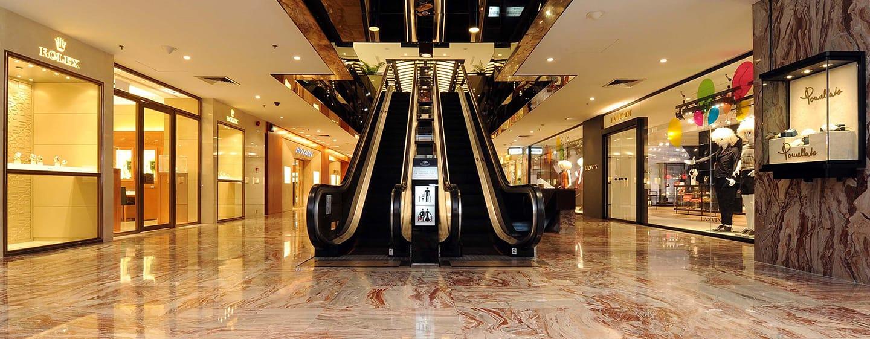 Hilton Singapore Hotel, Singapur – Einkaufspassage des Hilton