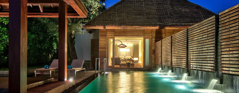 Hilton Ngapali Resort & Spa Hotel, Myanmar– Villa mit Meerblick und eigenem Swimmingpool