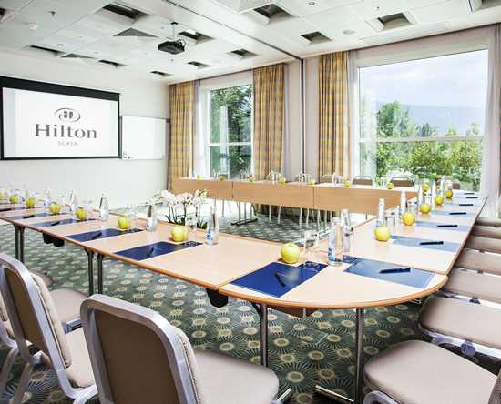 Hilton Sofia, Bulgarien – Kleine Meetings