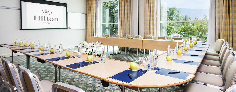 Hilton Sofia Hotel, Bulgarien– Meetingraum Aleko