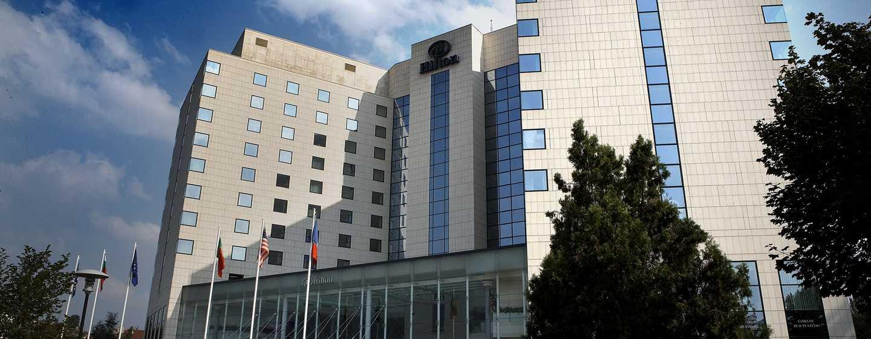 Hilton Sofia Hotel, Bulgarien– Außenbereich des Hotels