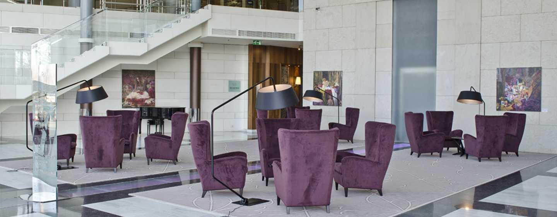 Hilton Sofia Hotel, Bulgarien– Verglastes Atrium