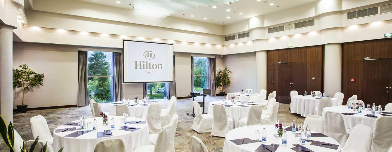 Hilton Sofia Hotel, Bulgarien– Ballsaal Moussala