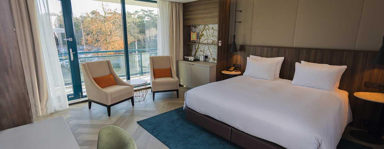 Hilton Royal Parc Soestduinen, Niederlande – Deluxe Zimmer mit Kingsize-Bett