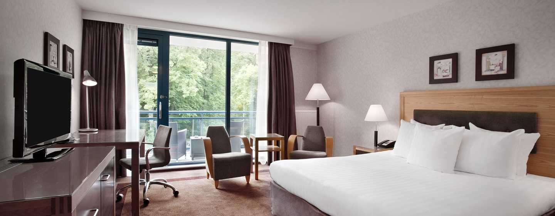 Hilton Royal Parc Soestduinen, Niederlande– Hilton Zimmer mit Kingsize-Bett