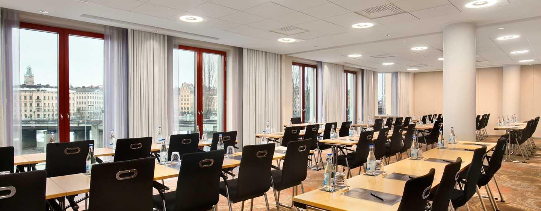 Hilton Stockholm Slussen, Schweden– Meetingraum mit Ausblick