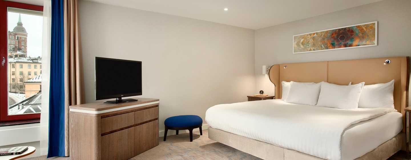 Hilton Stockholm Slussen, Schweden – Schlafzimmer der Riddarholm Suite