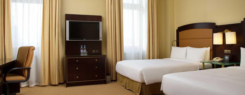Hilton Moscow Leningradskaya Hotel, Russland – Hilton Deluxe Zweibettzimmer