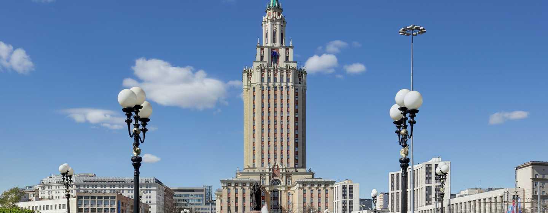 Hilton Moscow Leningradskaya Hotel, Russland – Außenbereich des Hotels