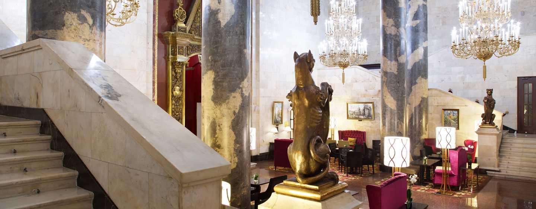Hilton Moscow Leningradskaya Hotel, Russland – Historische Lobby