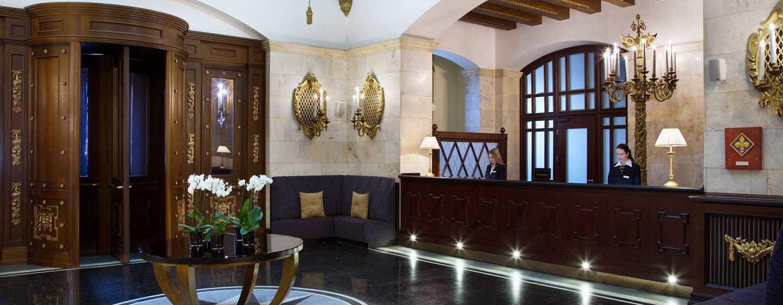 Hilton Moscow Leningradskaya Hotel, Russland – Empfang