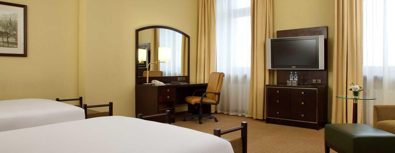 Hilton Moscow Leningradskaya Hotel, Russland – Hilton Junior Suite mit zwei Einzelbetten