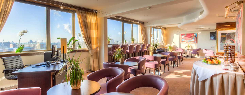Hilton Strasbourg Hotel, Frankreich– Executive Lounge