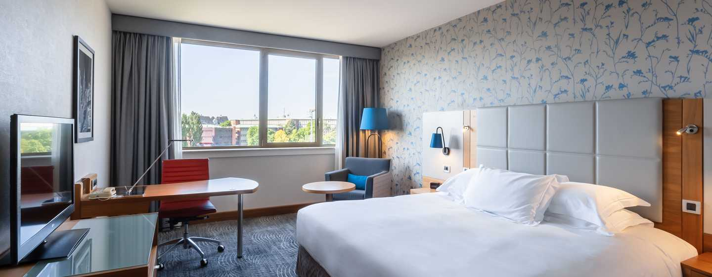 Hilton Strasbourg Hotel, Frankreich – Deluxe Zimmer mit Kingsize-Bett