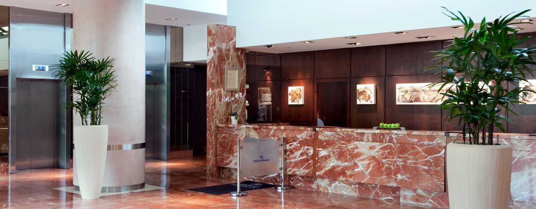 Hilton Strasbourg Hotel, Frankreich – Empfang