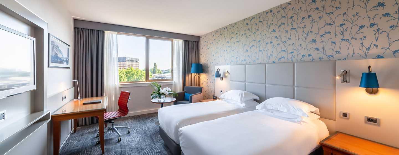 Hilton Strasbourg Hotel, Frankreich – Deluxe Zweibettzimmer