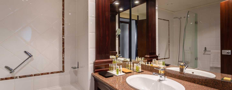 Hilton Strasbourg Hotel, Frankreich– Badezimmer