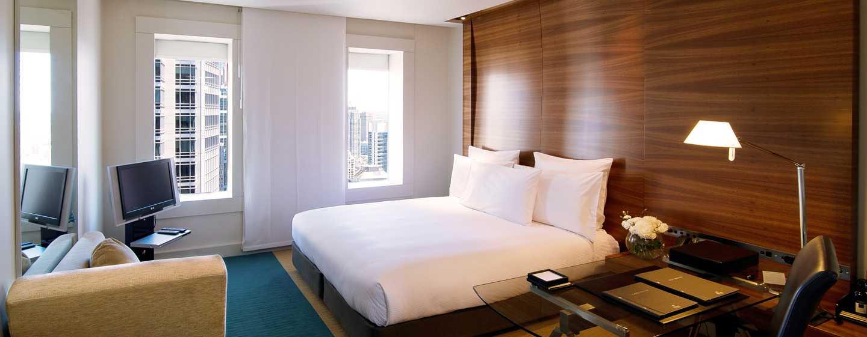 Hilton Sydney Hotel, Australien – Modernes Zimmer