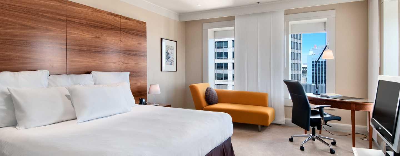 Hilton Sydney Hotel, Australien – Executive Zimmer mit King-Size-Bett