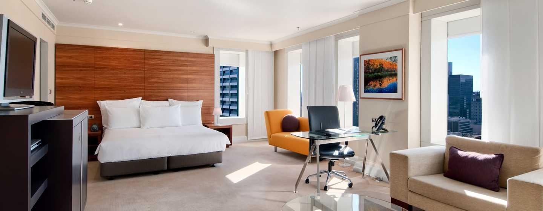 Hilton Sydney Hotel, Australien – Geräumiges Zimmer