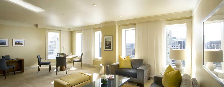 Hilton Sydney Hotel, Australien – Suite – Wohnbereich