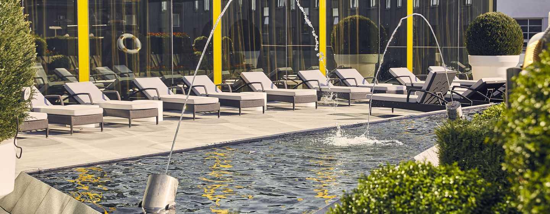 Hilton Tallinn Park – Terrasse