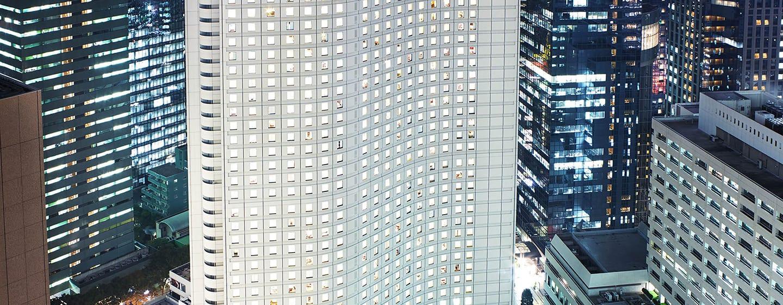 Hilton Tokyo Hotel, Japan – Außenbereich des Hotels