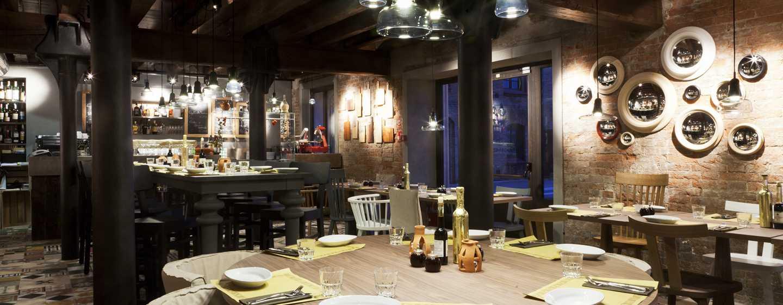 Hilton Molino Stucky Venice Hotel, Italien– Restaurant Bacaromi