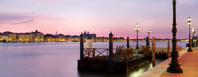 Hilton Molino Stucky Venice Hotel, Italien– Shuttleboot